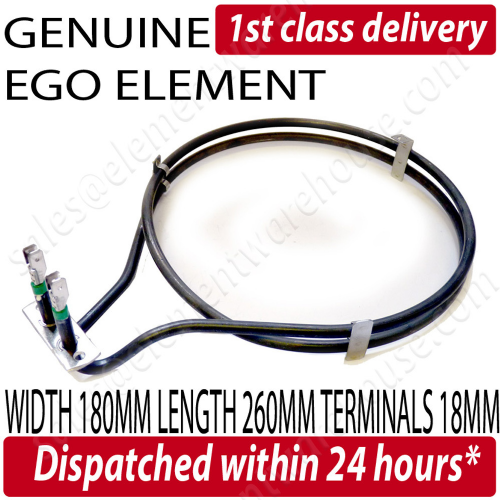 Genuine Ego Neff Fan Oven Element B1920 B1941 B1951 E1320 E1325 E1331 E1341